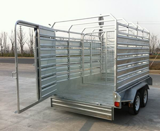 12x6 Cattle crate trailer
