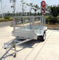8x5 Single axle trailer /Box trailer