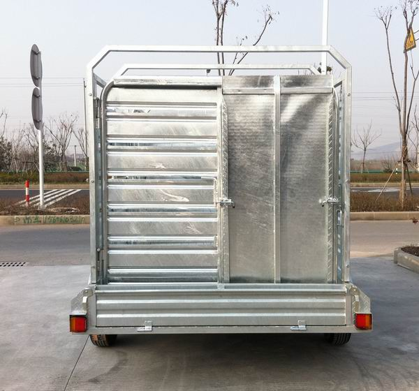 8x5 Cattle crate trailer