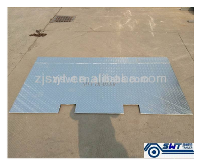 Steel Container ramp with galvanized or powder coating surface