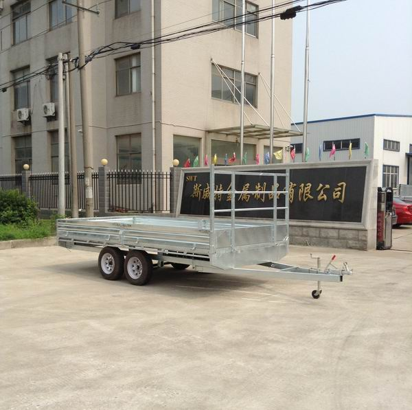 High-quality 10x7 flat top trailer