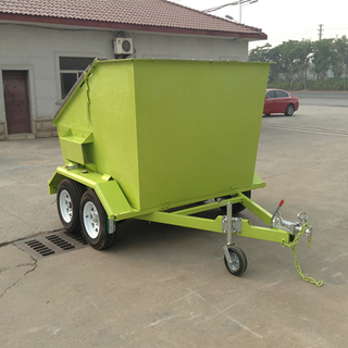 Mobile garbage Trailer