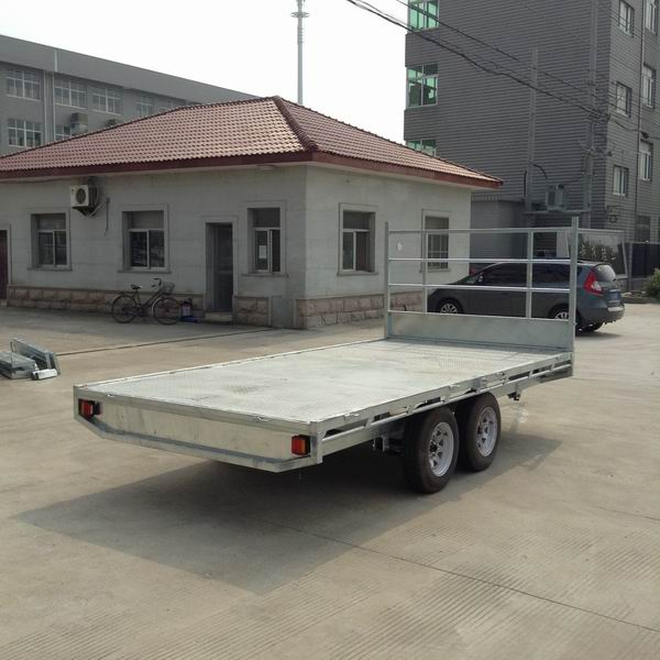 tandem axle Flat top trailers