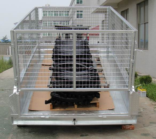 hot sale Hydraulic tipping trailer with Hydraulic power unit