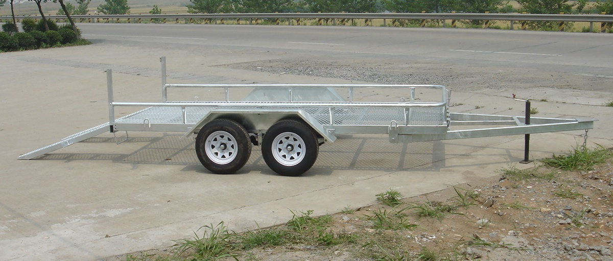Durable promotional Car transporting trailer