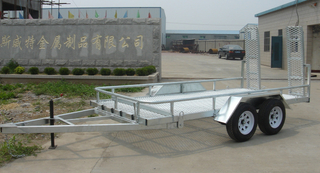 galvanized car carrier trailer for sale