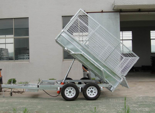 8x5 Fully Welded Hydraulic Tipper Trailer